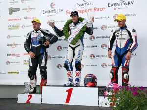 And the winner is: Alastair Seeley (GB/Tyco BMW). (Werksfoto)